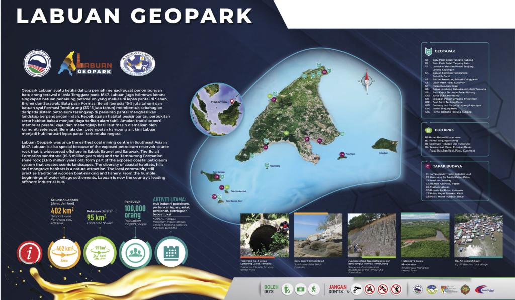 labuan geopark